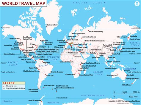 world map cities visited this map shows the best places to visit in the world i