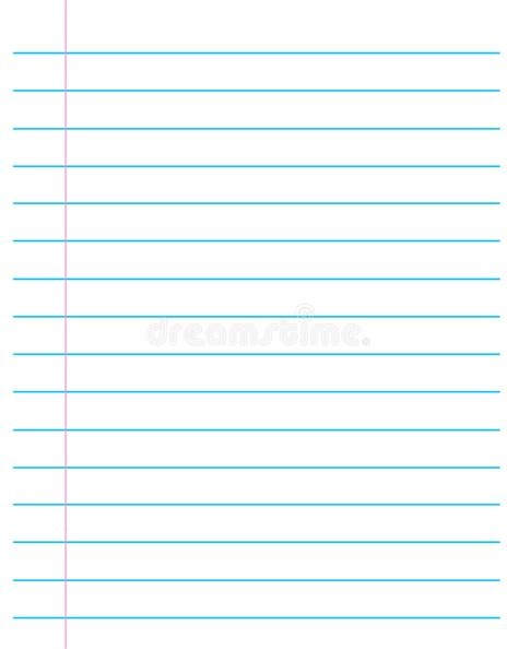 lined paper free stock ruled paper lined page stock vector illustration of