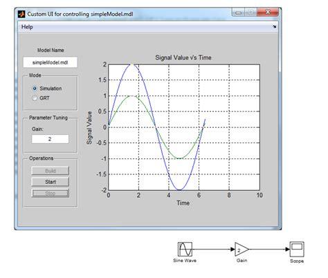 Math Desk Use Matlab Guis With Simulink Models 187 File Exchange Pick