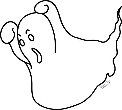 halloween coloring pages of ghosts a picture paints a thousand words