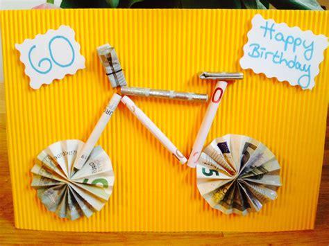 geldgeschenk fuer einen fahrrad liebhaber geschenke