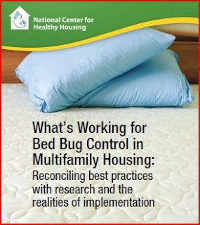 bed bug success stories rents and rants federal report released on best practices
