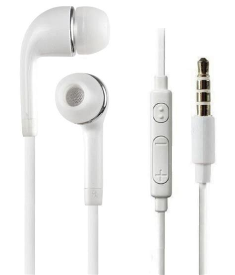 Headset Samsung A5 Asli buy samsung galaxy a5 in ear wired earphones with mic white at best price in india