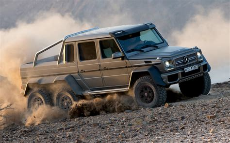 mercedes truck 6x6 mercedes g63 amg 6 215 6 to cost 600 000 in germany