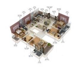 4 bedroom apartment floor plans 4 bedroom apartment house plans
