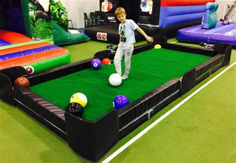 poolball or football a cross between football and ball