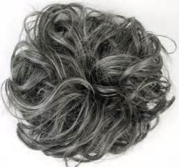 gray hair pieces ebay