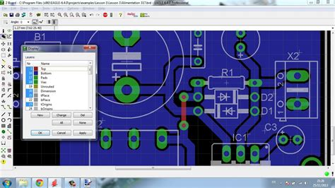 pcb design tutorial using eagle eagle tutorial 2 pcb layout algerian language youtube
