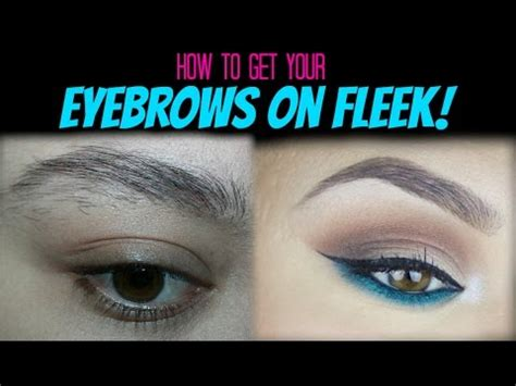 how to trim you eyebrows with clippers wiki with pictures how to perfectly groom your own eyebrows youtube
