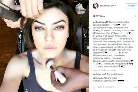 sushmita sen miss universe sushmita sen to return to manila as miss universe judge