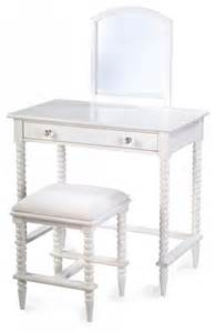 Kid Vanity Table And Chair Lind Vanity Stool Tables And Chairs Chicago By Michael Furniture