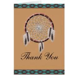 krw dreamcatcher american thank you card zazzle