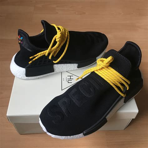 Adidas Nmd Runner X Pharell William Human Species Black 1 adidas x pharrell nmd quot human race quot blue bb0618 with