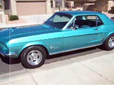 1968 mustang  tahoe turquoise  beautiful! youtube