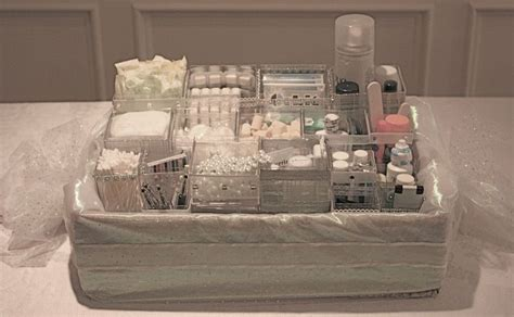 bathroom wedding basket list ally in wedding wonderland bathroom baskets for guests
