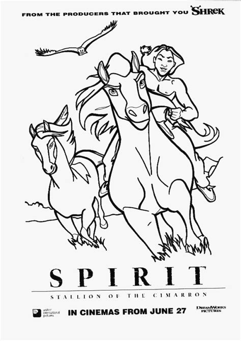 spirit stallion coloring pages coloring home