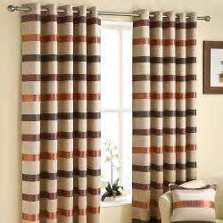 Living room eyelet curtains modern interior design ideas
