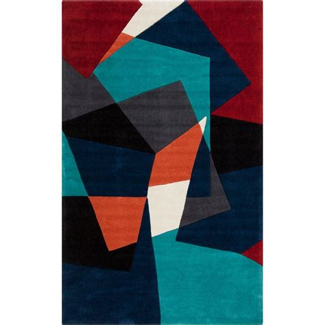 teal accent rug artistic weavers trondheim teal green 2 ft x 3 ft