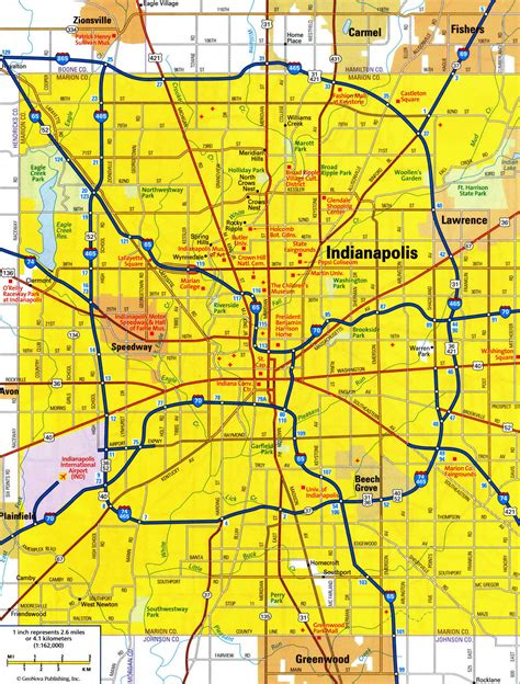 indianapolis map usa indianapolis city map usa map guide 2016