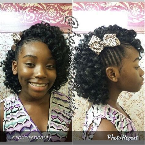back to school hairstyles for relaxed hair 1000 images about little black girls hair on pinterest