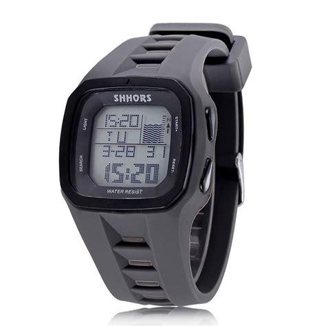 Jam Tangan Digital Pria Waterproof shhors jam tangan digital pria 2215 gray jakartanotebook