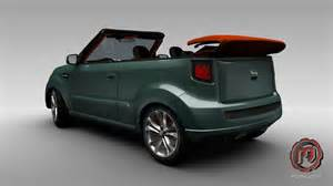 Kia Soul Convertible Rendered Speculation Three Door And Convertible Variants