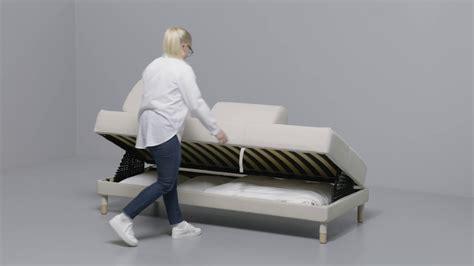 bett richtig machen ikea flottebo 90 anleitung vom sofa zum bett
