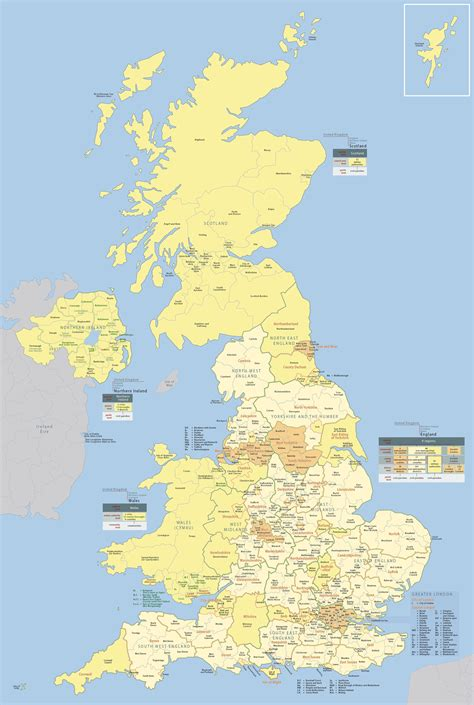 uk map map of uk united kingdom world map large detailed administrative and political map of great