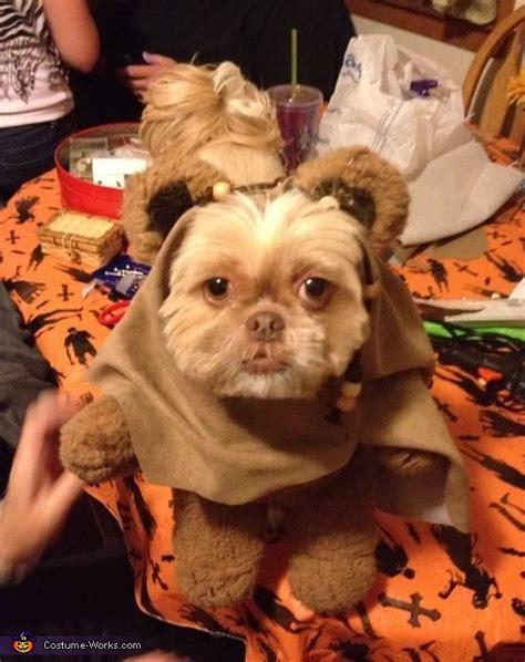 how to make ewok costume for shih tzu diy ewok costume