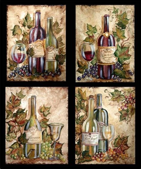 grapes and vines kitchen decor decor on top on kitchen wine bottle grapes on wine bottles tre sorelle art for
