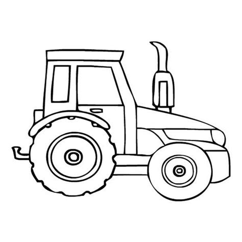 free coloring pages of and tractor