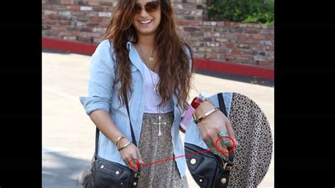 demi lovato tattoo removal demi lovato new finger update october 2011