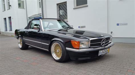 Auto H Sl by Mercedes 560 Sl R107 W107 H Zulassung Klassiker Bbs