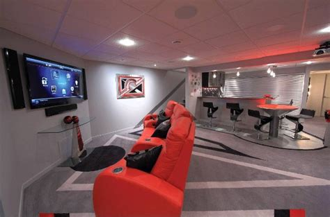 4 ideas to create a basement for teenagers 1334