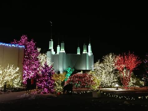 festival of lights maryland mormon temple visitor center and the festival of lights