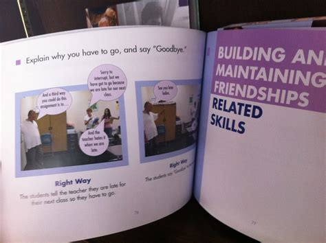 social skills picture book the social skills picture book for high school and beyond