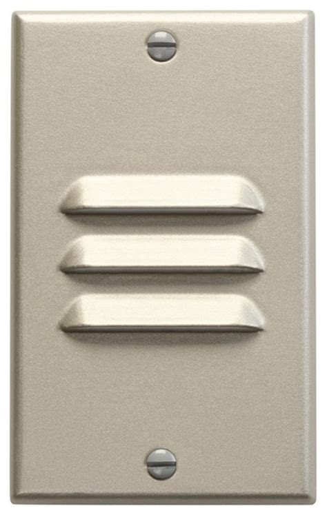 Kichler Step Lights Kichler Lighting Vertical Louver Dimmable Led Step Light X In65621 Contemporary Stair And