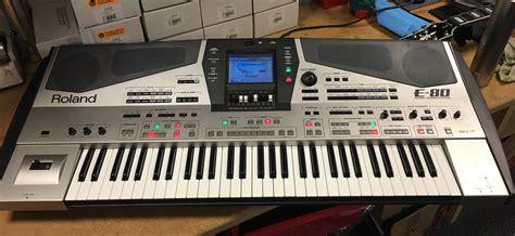 Keyboard Roland E 12 roland e 80 image 1810508 audiofanzine