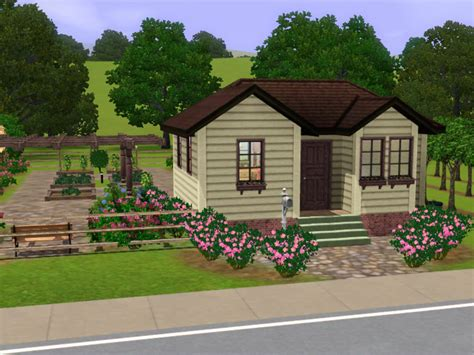 small farm houses mod the sims small farm house with huge harvestable