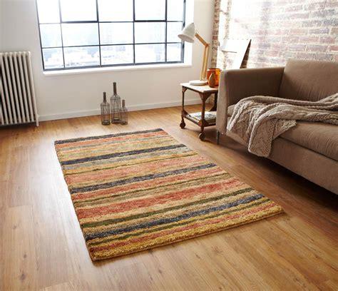 striped rug hemp stripe rug mutli free uk delivery terrys fabrics