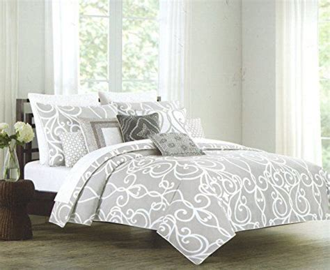 queen black white gray medallion damask bedroom 7 pc 243 best cute bedding images on pinterest bedding