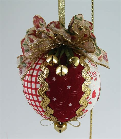 quilted christmas ball ornaments bumbleberries boutique