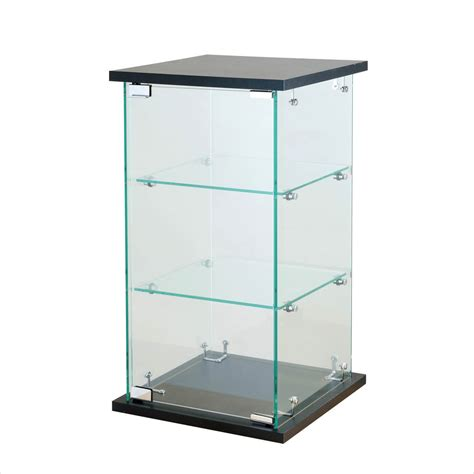 Glass Display Countertop by Black Tower Glass Display Counter Top Showcase