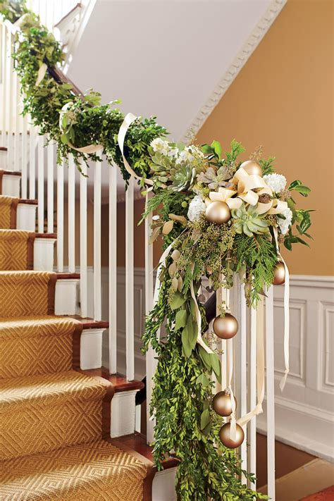 garland for banister the ultimate holiday decorating guide southern living