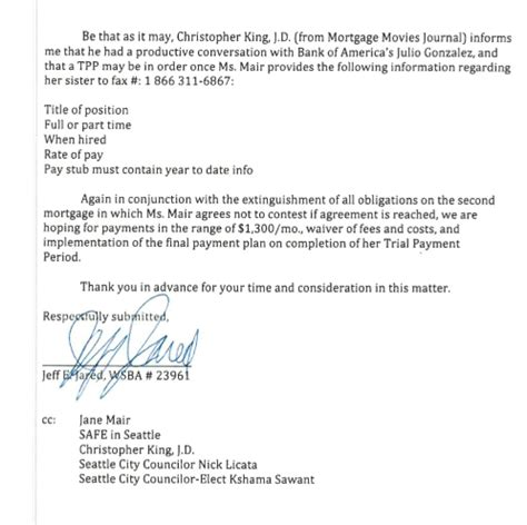 thank you letter after paralegal mortgage journal kingcast and mortgage
