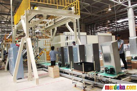 Mesin Cuci Sharp Yang Baru foto pabrik baru produksi lemari es mesin cuci sharp
