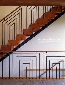 Banister Design Geometric Patterns In Modern Stairway Design Euro Style