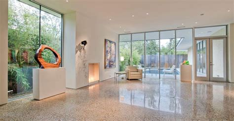 polished concrete how to floors the concrete