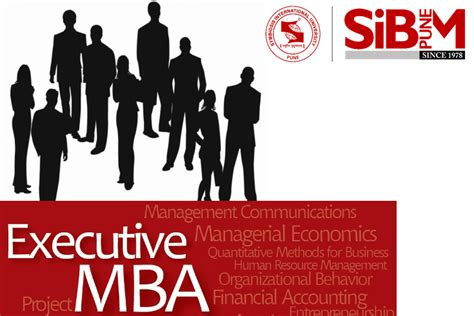 Executive Mba Pune Admission executive mba sibm