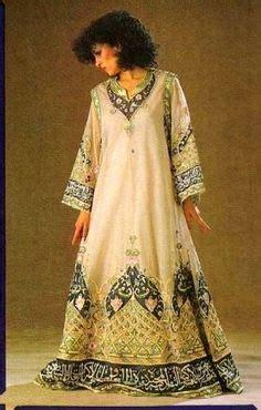 Gamis Abaya Arab 004 fashions from iraq iraqi fashion moda